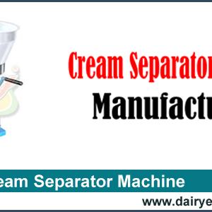 Cream Separator Machine