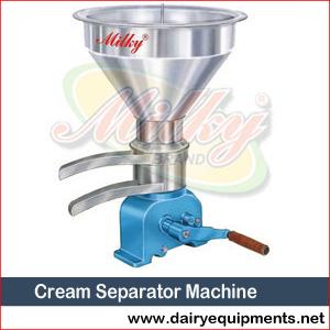 Cream Separator Machine Manufacturer