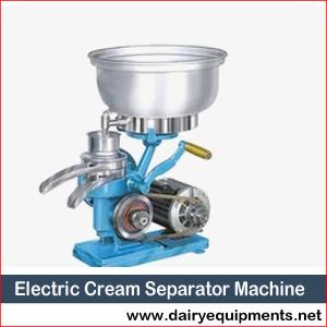 Electric Cream Separator