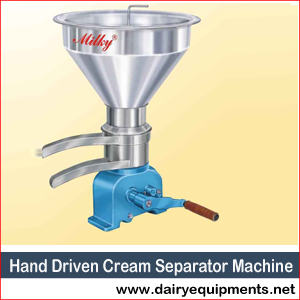 Hand Driven Cream Separator Machine