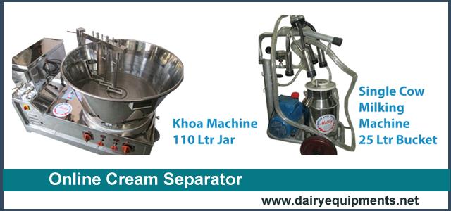 Online Cream Separator