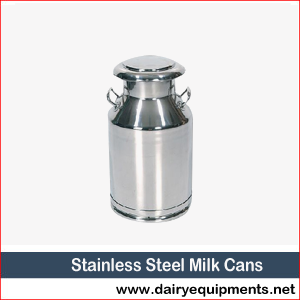 Stainless Steel Milk Cans