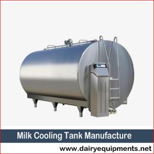 Milk Cooling Tank Manufacture