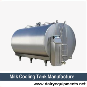 Milk Cooling Tank Manufacture