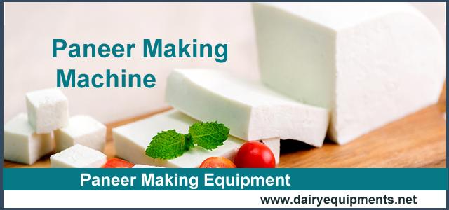 Paneer Making Equipment